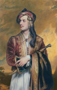 Lord Byron in Albanian dress, painted by Thomas Phillips (1813)