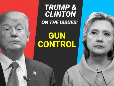 Like None Before Him: Trump on Gun Control in 2016