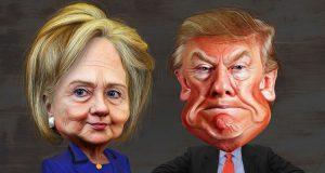 hillary_clinton_vs-1-_donald_trump_-_caricatures-750x400